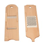Grater for turnip  toothed blades